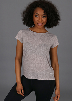 Criss Cross Scoop Tee - Ladies Thumbnail