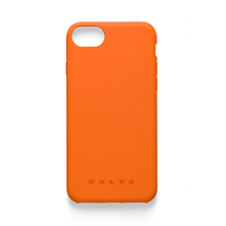 SILICONE IPHONE 6/7/8 CASE 10 PCS, ORANGE Thumbnail