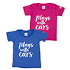 Plays With Cars Toddler T-Shirt Thumbnail