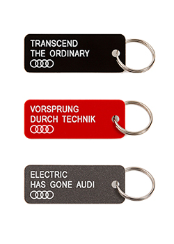 Various Keytags for Audi - Second Edition