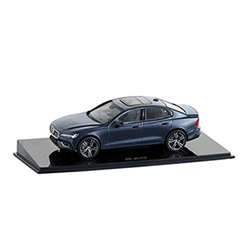 S60 MODEL DENIM BLUE 1:43 Thumbnail