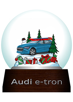 Audi e-tron Commemorative Snow Globe Thumbnail