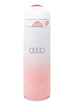 Kor Devi Pearl Pink Water Bottle Thumbnail
