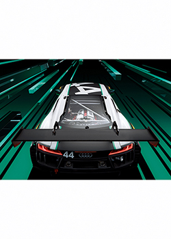 Audi GT-Sport Canvas Art Thumbnail