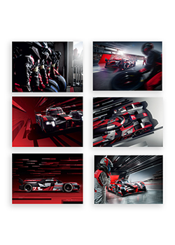 Audi Sport Postcards - Set of 6