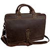 Ezra Brooks Leather Briefcase Thumbnail