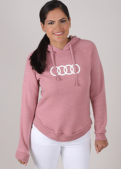 Angel Fleece Hooded Sweatshirt- Ladies Thumbnail