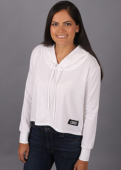 Lightweight Hooded Tee - Ladies Thumbnail