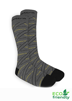 quattro Asymmetric Stripe Socks Thumbnail