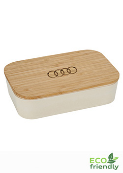Lunch Box with Bamboo Lid Cutting Board Thumbnail