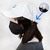 PPE Cotton Twill Cap - White Thumbnail