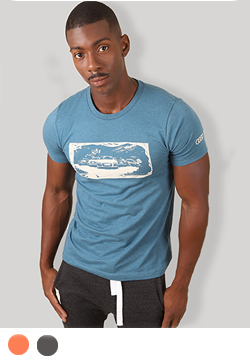 Audi Line Up T-Shirt - Men's Thumbnail