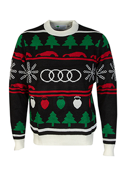 2020 Audi Knit Holiday Sweater Thumbnail