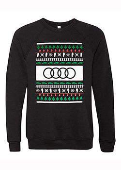 Audi Holiday Crewneck Sweatshirt Thumbnail