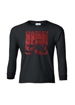 Massey Ferguson Youth Long Sleeve T-Shirt Thumbnail