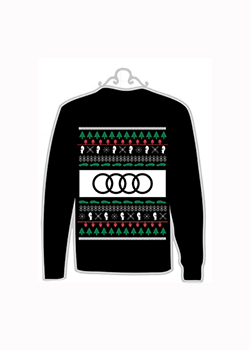 2020 Ugly Holiday Sweater Ornament Thumbnail