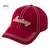Red Mustang Applique Hat Thumbnail