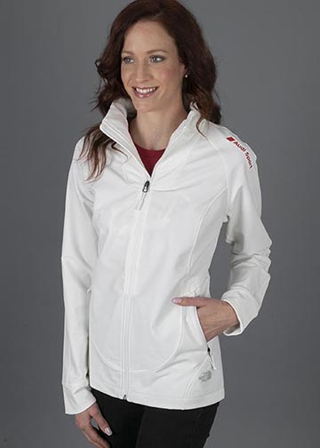 The North Face Tech Stretch Soft Shell Jacket - Ladies Image