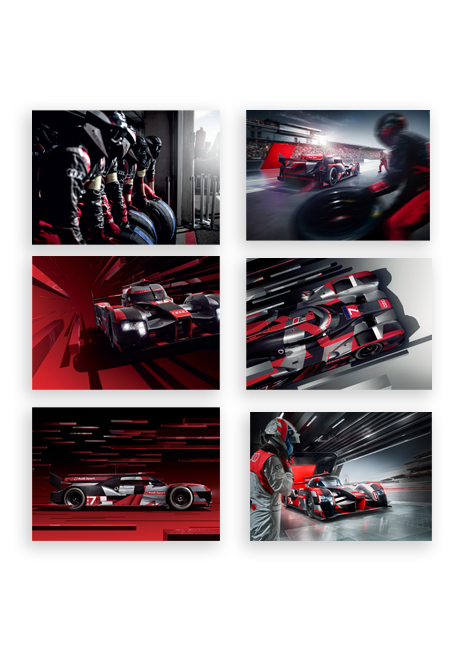 Audi Sport Postcards - Set of 6 Image